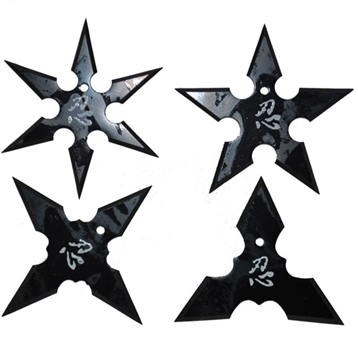 Picture of Aeroblade Ninja Throwing Star Set