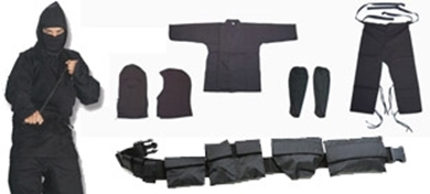 Picture for category Ninja Uniforms