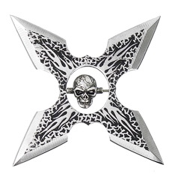 Picture of Flare Skull Throwing Star