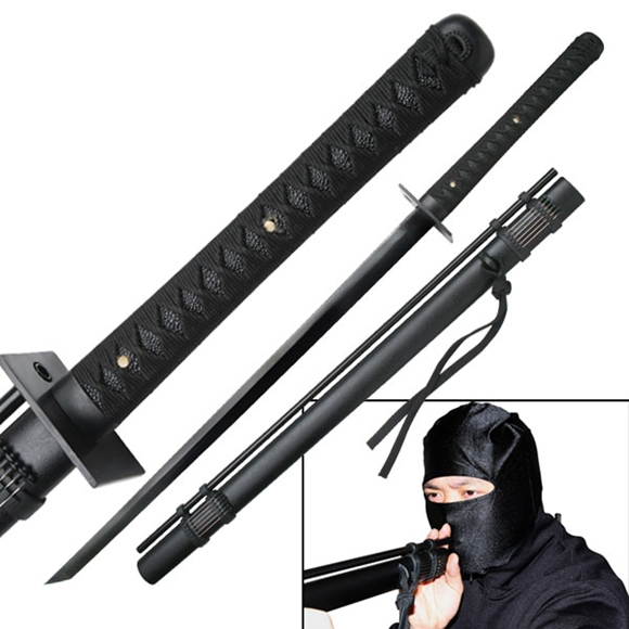 Picture of Ninja Sword with Attached Blowgun