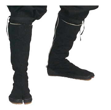 Picture of Black Ninja Tabi Boots