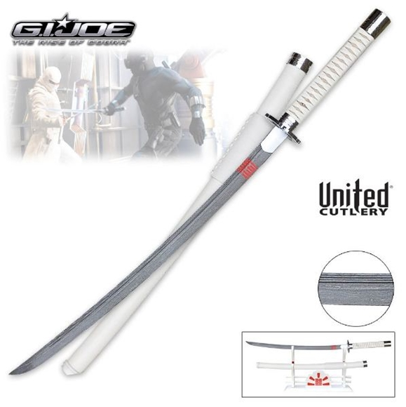 Picture of GI JOE Storm Shadow Katana Sword Damascus
