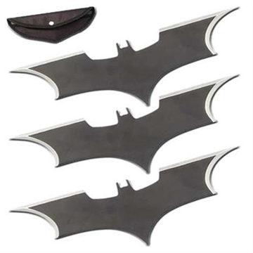 Picture of Triple Action Bat Throwing Stars Set of 3