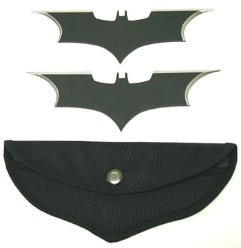 Picture of Fantasy Bat Throwing Star Set of 2