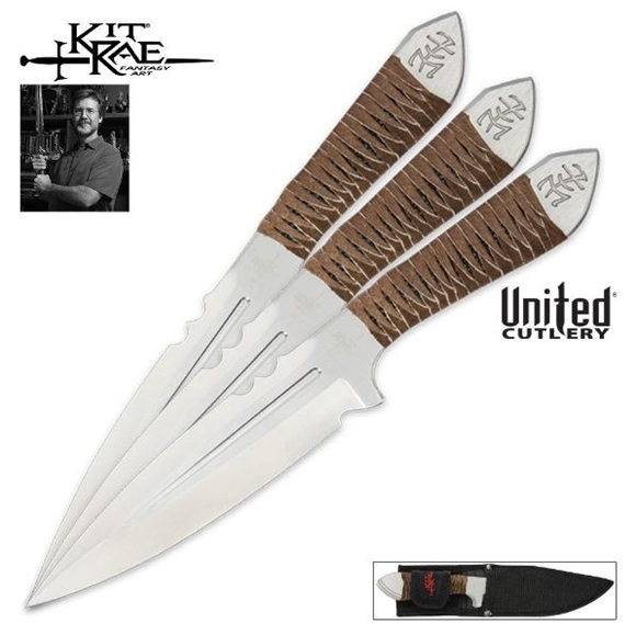 Picture of Kit Rae Aircobra Throwing Knife Set