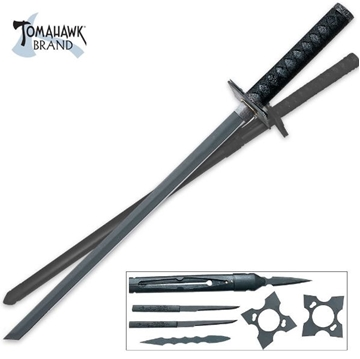 Picture of Black Ninja Sword Set