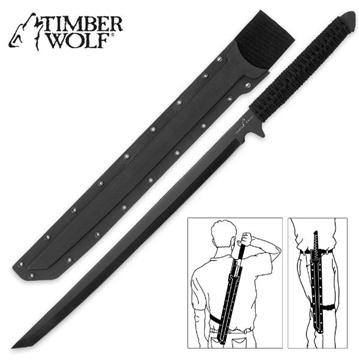 Picture of Timber Wolf Full Tang Ninja Sword