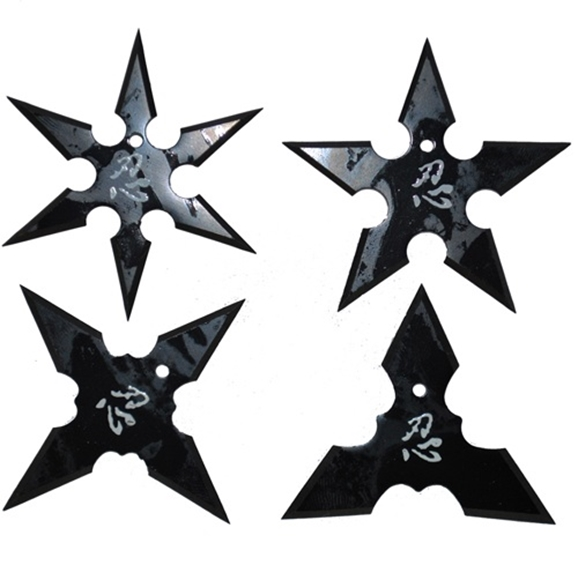 Aeroblade Ninja Throwing Star Set For Sale | All Ninja ...