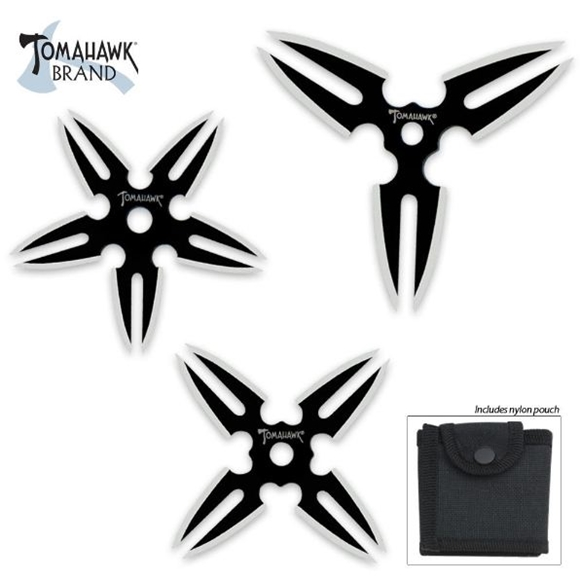 Picture of Tomahawk Warrior Throwing Star Set