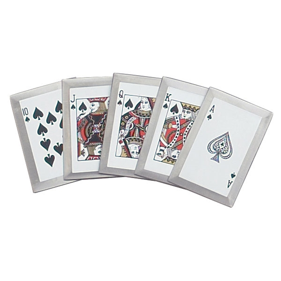 Picture of Ninja's Deadliest Royal Flush Throwing Cards - Spades