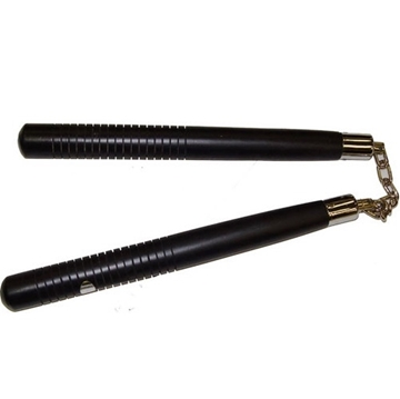 Picture of Grooved Handle Round Nunchaku