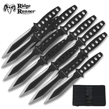 Picture of Ridge Runner 12 Piece Tornado Throwing Knife Set