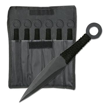 Picture of Naruto Kunai Throwing Knife Set