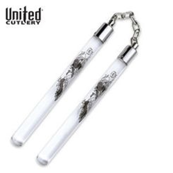 Picture of United Cutlery Dragon Acrylic Nunchaku
