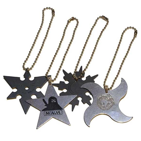 Picture of Ninja Star Zipper Pull Accessory