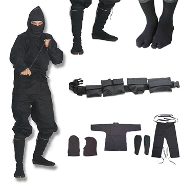 Picture of Shinobi Ninjutsu Stealth Ninja Uniform Gift Set