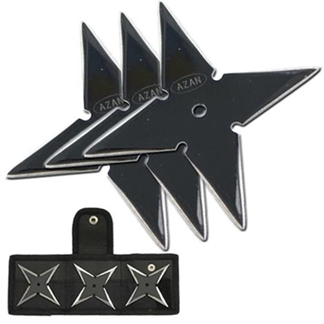 Picture of Shadow Glacier Ninja Throwing Star Set