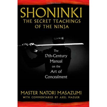 Picture of Shoninki: The Secret Teachings of the Ninja