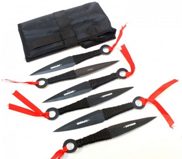 Picture of Tailed Comet Kunai Throwing Knife Set