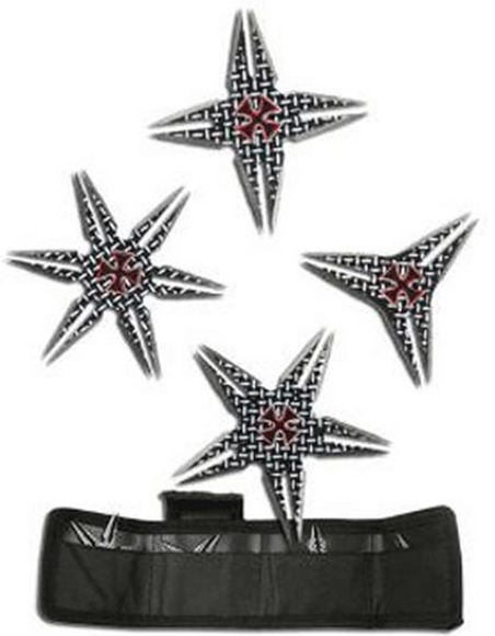 Picture of Diamond Plate Chopper Throwing Star Set