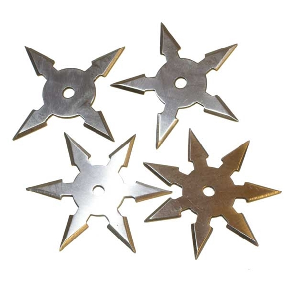 Picture of Shinobi Pro Ninja Throwing Star Set