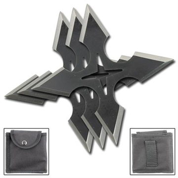 Picture of Ronin Warrior Ninja Throwing Star Set