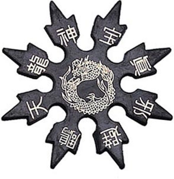 Picture of 8 Point Ninja Soft Foam Rubber Throwing Star
