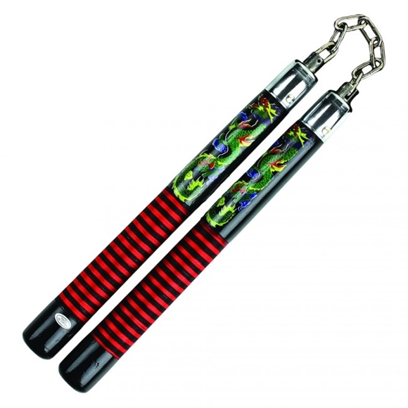 Picture of Flashy Dragon Nunchaku