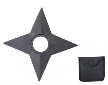 Picture of Classic Style Rubber Ninja Throwing Star