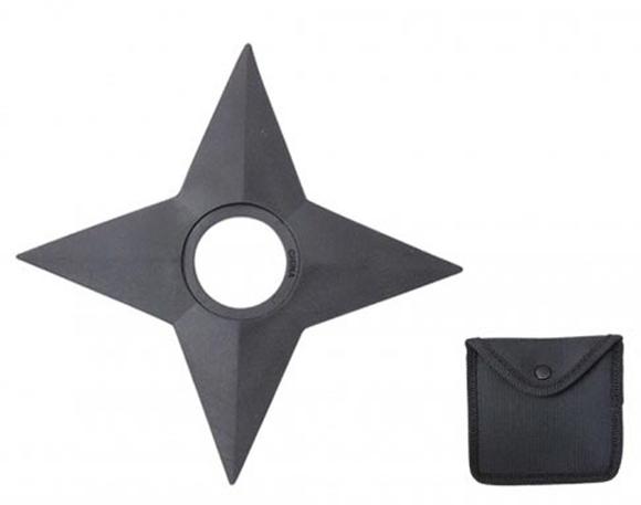 how to make a ninja throwing star