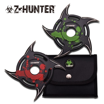 Picture of Z-Hunter Zombie Killer Ninja Shuriken Set