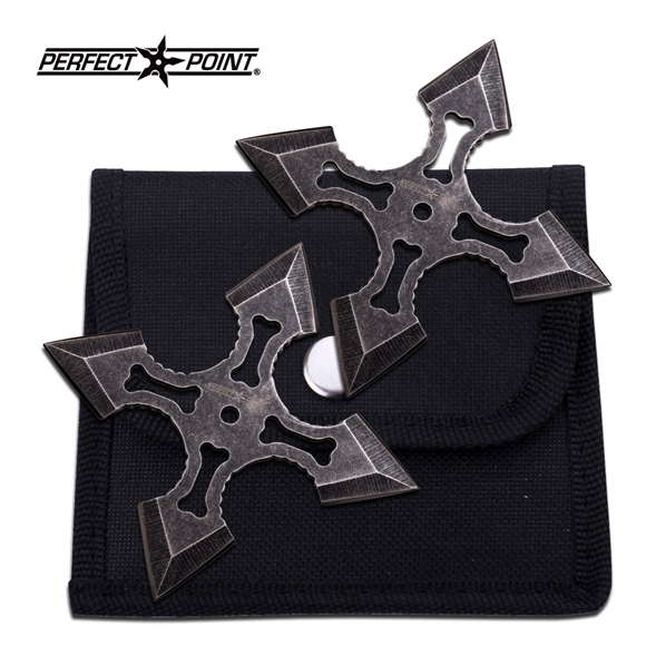 Picture of Bad to the Bone Ninja Shuriken Set