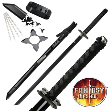 Picture of Deluxe Black Ninja Sword