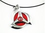 Picture of Uchiha Sharingan Hidden Leaf Necklace