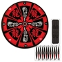 Picture of Angry Dragon Throwing Knife Set & Target