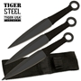 Picture of Tiger Steel Kunai Ninja Throwing Knives