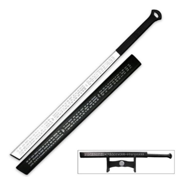 Picture of ULTRAVIOLET Full Tang Triple Edged Sword With Display Stand