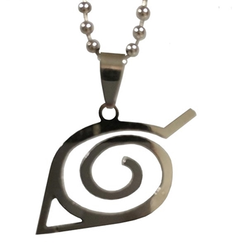 Picture of Hidden Leaf Symbol Necklace