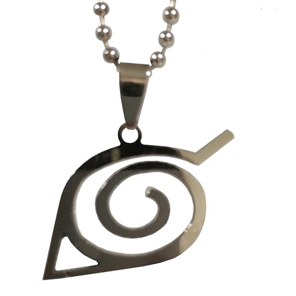 Picture of Hidden Leaf Symbol Necklace
