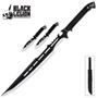 Picture of Black Legion Ninja Fantasy Sword & Throwing Knife Set