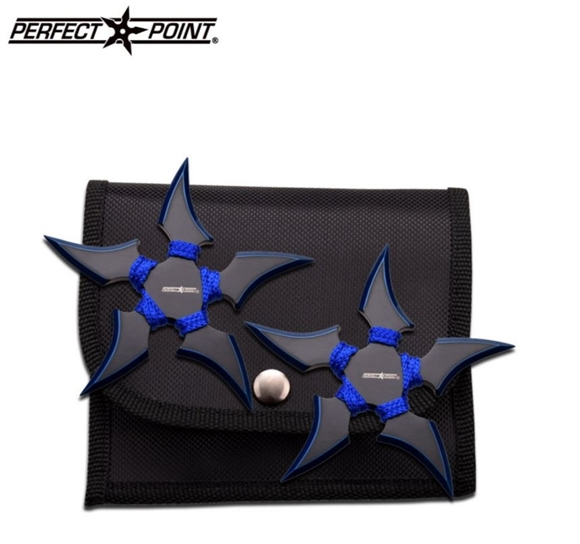 Picture of Blue Talons of Iris Ninja Shuriken Set