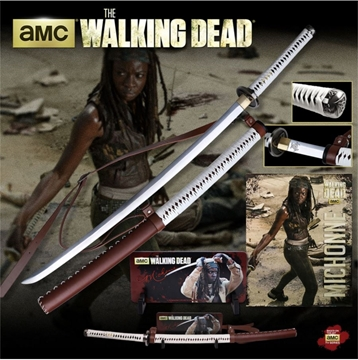 Picture of THE WALKING DEAD Hand Forged Katana Set