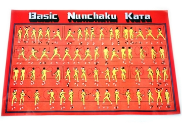 Picture of Basic Nunchaku Kata Poster
