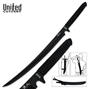 Picture of Black Ronin Samurai Sword with Shoulder Scabbard