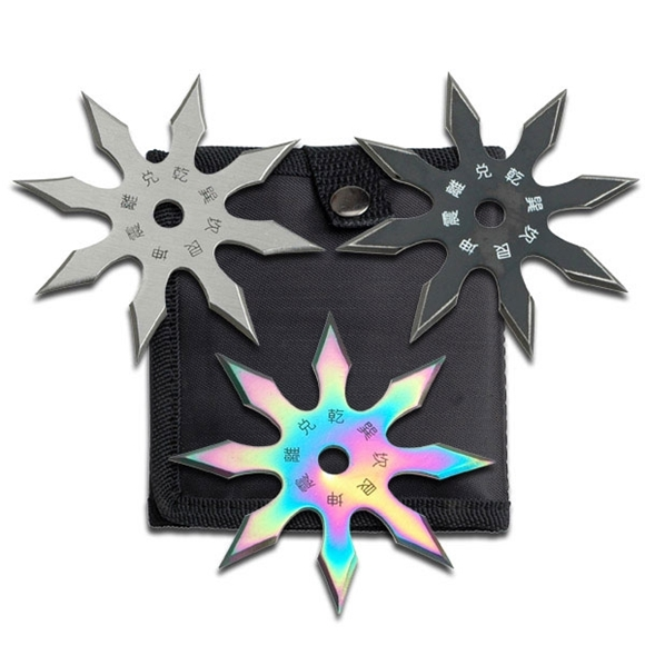 Picture of Rigel Shuriken Ninja Star Set