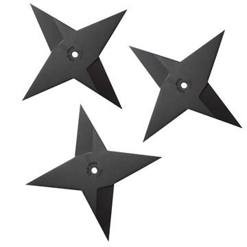 Picture of Cold Steel Sure Strike Heavy Throwing Star Set of 3