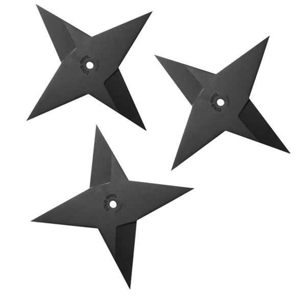Picture Of Cold Steel Sure Strike Heavy Throwing Star Set 3