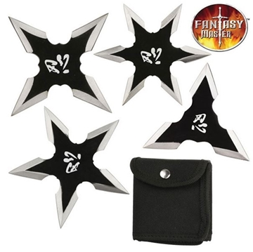 Picture of Fantasy Master  Ninja Throwing Star Set