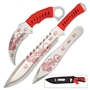 Picture of Tiger Stalker Triple Knife Set With Nylon Belt Sheath
