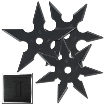 Picture of Khoga Ninja Sure Stick Throwing Star Set